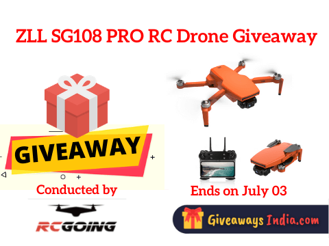 ZLL SG108 PRO RC Drone Giveaway