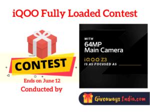 iQOO Fully Loaded Contest