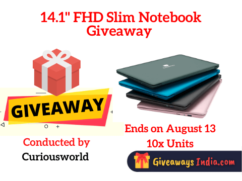 14.1 FHD Slim Notebook Giveaway