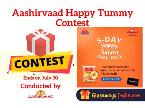 Aashirvaad Happy Tummy Contest
