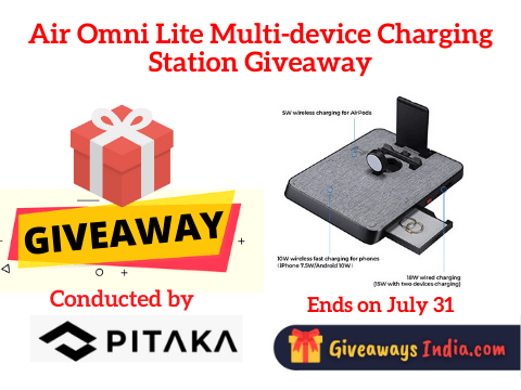 Air Omni Lite Multi-device Charging Station Giveaway