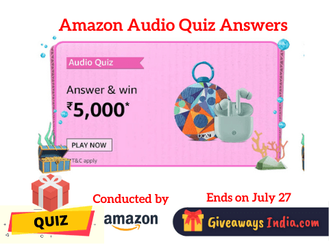 Amazon Audio Quiz Answers
