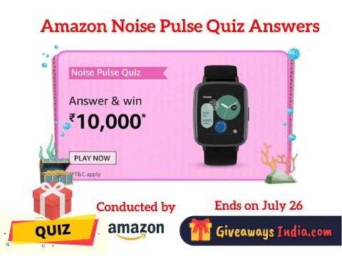 Amazon Noise Pulse Quiz Answers