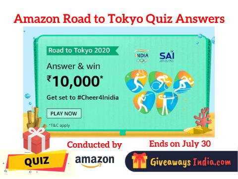 Amazon Road to Tokyo Quiz Answers
