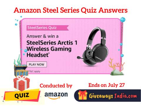 Amazon Steel Series Quiz Answers