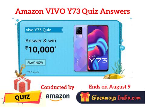 Amazon VIVO Y73 Quiz Answers