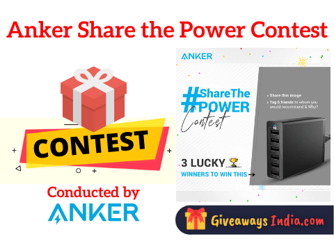 Anker Share the Power Contest