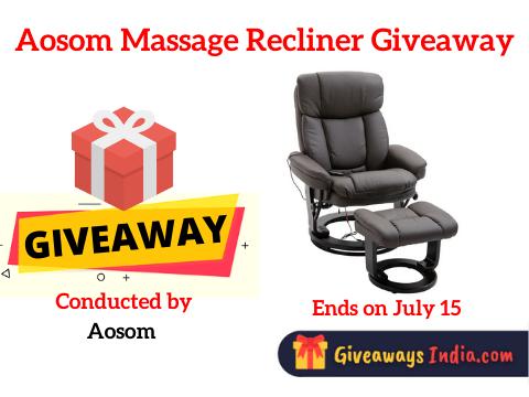 Aosom Massage Recliner Giveaway