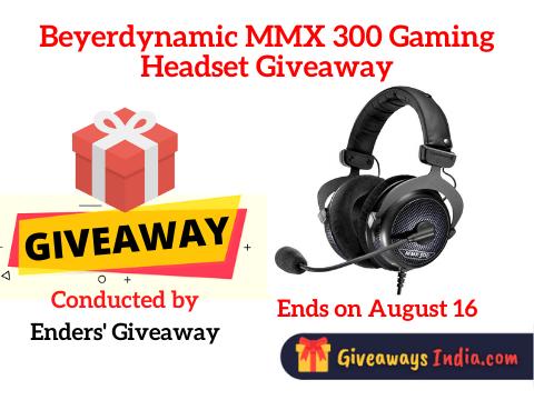 Beyerdynamic MMX 300 Gaming Headset Giveaway