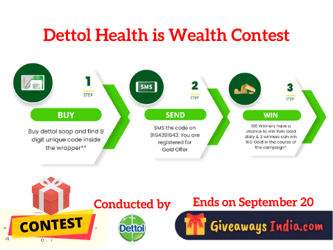 Dettol Health is Wealth Contest