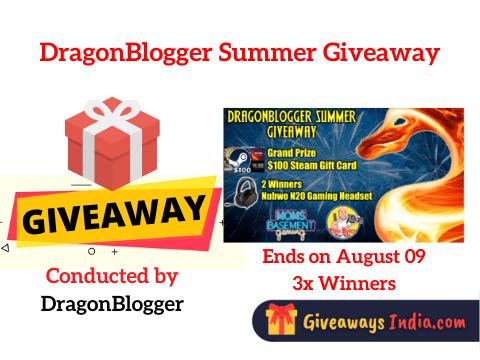 DragonBlogger Summer Giveaway