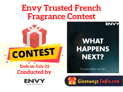 Envy Trusted French Fragrance Contest