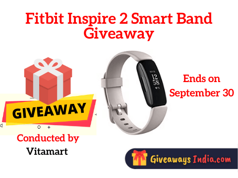 Fitbit Inspire 2 Smart Band Giveaway