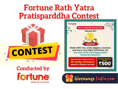 Fortune Rath Yatra Pratisparddha Contest
