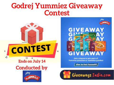 Godrej Yummiez Giveaway Contest