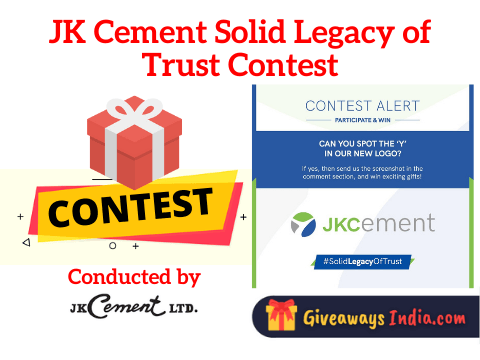 JK Cement Solid Legacy of Trust Contest