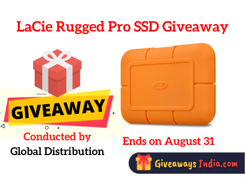 LaCie Rugged Pro SSD Giveaway