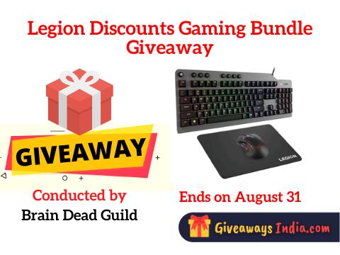 Legion Discounts Gaming Bundle Giveaway