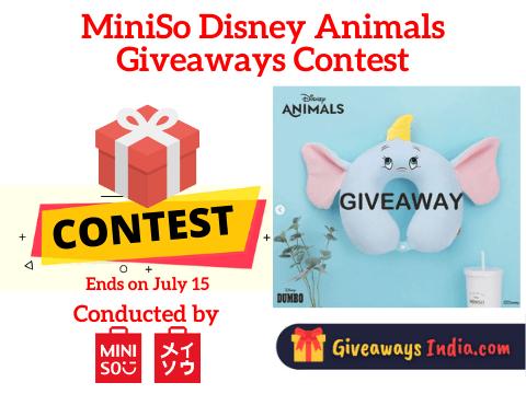 MiniSo Disney Animals Giveaways Contest