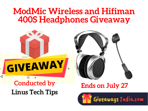 ModMic Wireless and Hifiman 400S Headphones Giveaway
