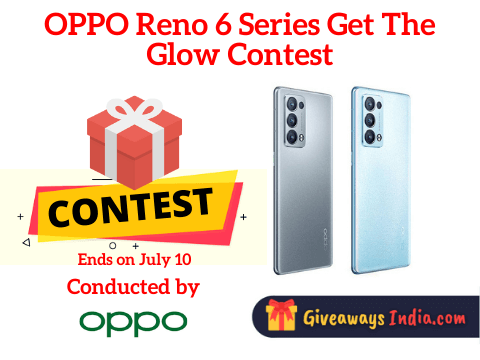 OPPO Reno 6 Series Get The Glow Contest