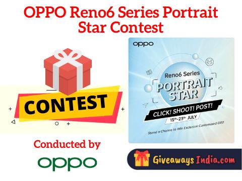 OPPO Reno6 Series Portrait Star Contest