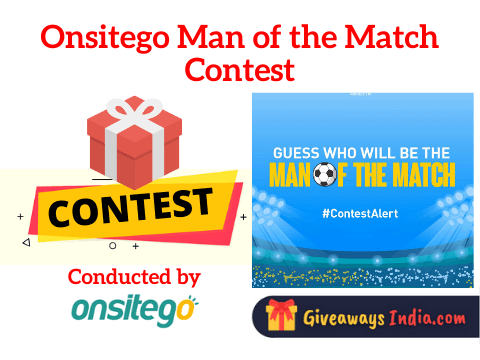 Onsitego Man of the Match Contest