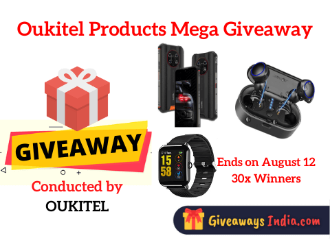 Oukitel Products Mega Giveaway