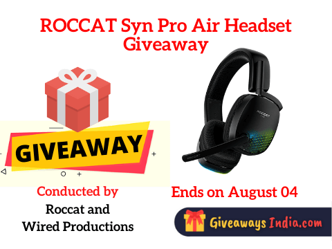 ROCCAT Syn Pro Air Headset Giveaway
