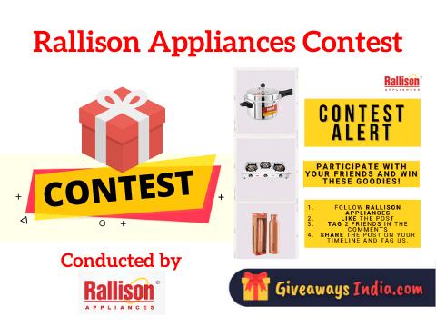 Rallison Appliances Contest