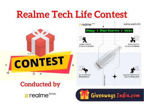Realme Tech Life Contest