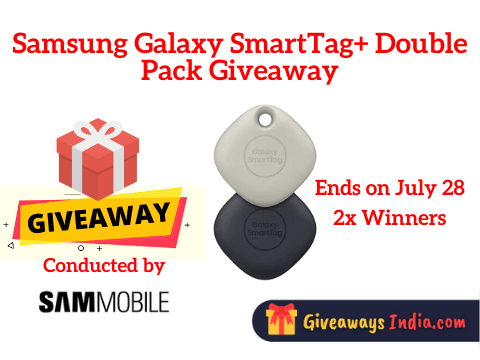 Samsung Galaxy SmartTag+ Double Pack Giveaway