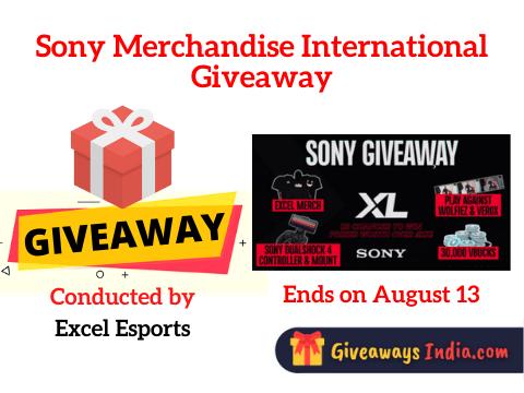 Sony Merchandise International Giveaway