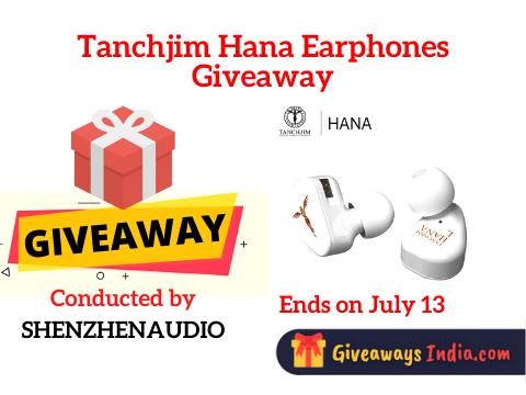 Tanchjim Hana Earphones Giveaway