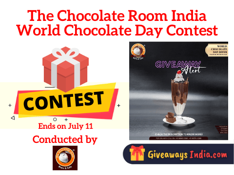The Chocolate Room India World Chocolate Day Contest