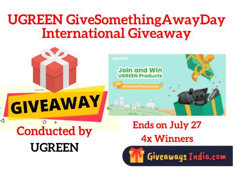 UGREEN GiveSomethingAwayDay International Giveaway