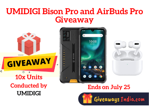 UMIDIGI Bison Pro and AirBuds Pro Giveaway