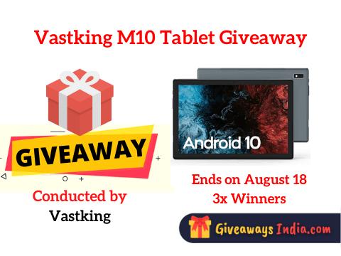 Vastking M10 Tablet Giveaway