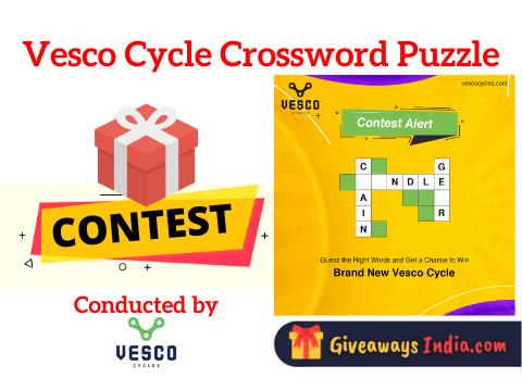 Vesco Cycle Crossword Puzzle