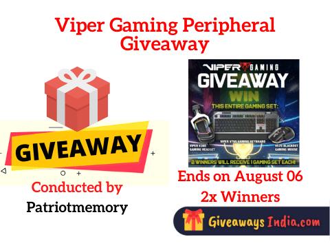 Viper Gaming Peripheral Giveaway