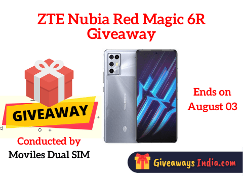 ZTE Nubia Red Magic 6R Giveaway