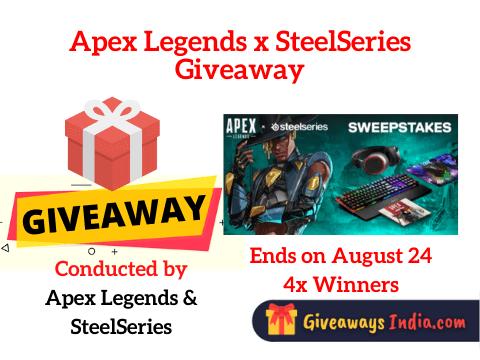 Apex Legends x SteelSeries Giveaway