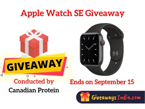 Apple Watch SE Giveaway