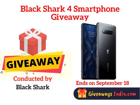 Black Shark 4 Smartphone Giveaway