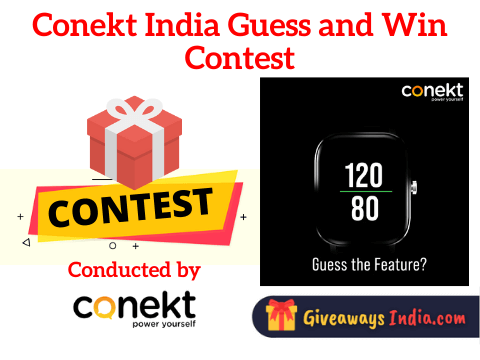 Conekt India Guess and Win Contest