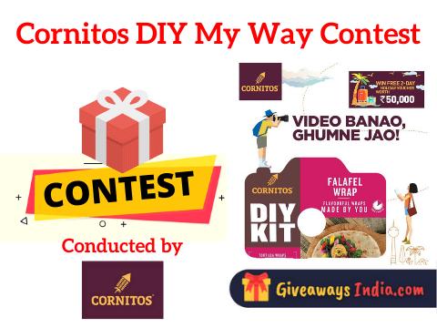 Cornitos DIY My Way Contest