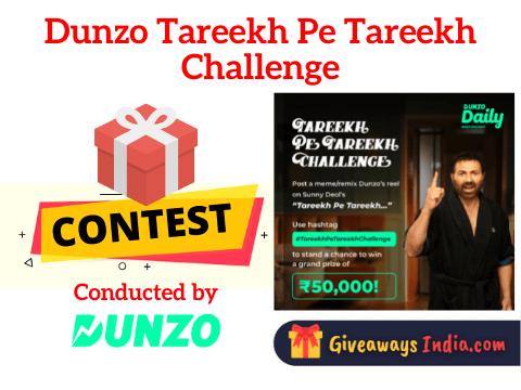 Dunzo Tareekh Pe Tareekh Challenge