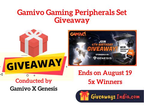 Gamivo Gaming Peripherals Set Giveaway