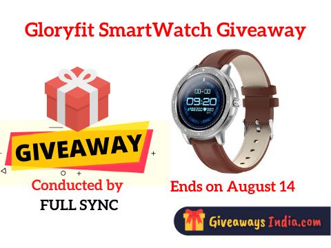 Gloryfit SmartWatch Giveaway