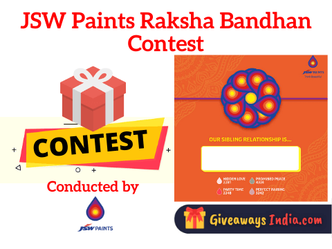 JSW Paints Raksha Bandhan Contest